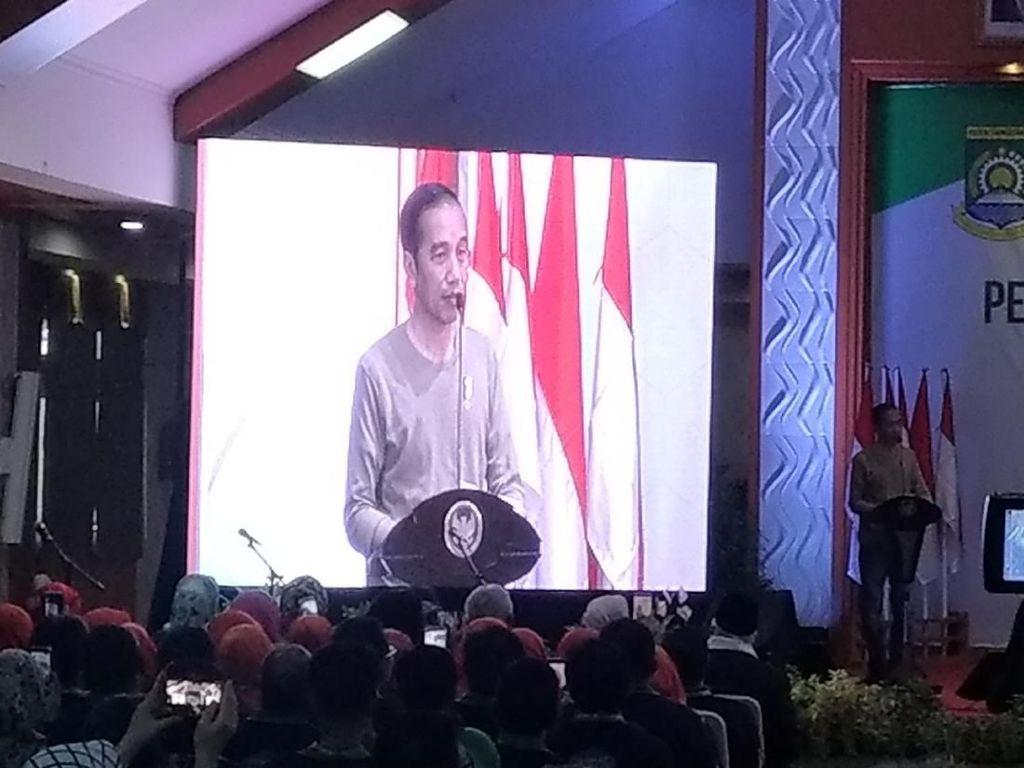 Hari Kesehatan, Jokowi Singgung Pengeluaran Triliunan BPJS Kesehatan