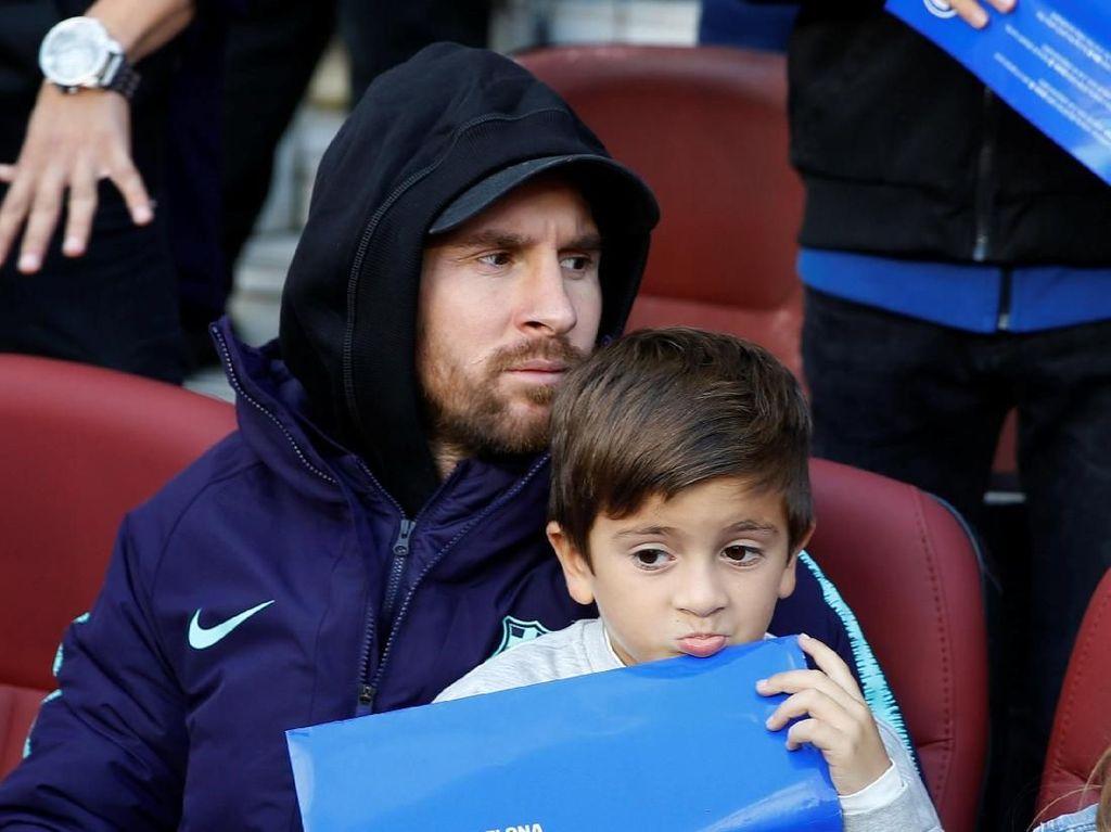 Messi Berpeluang Comeback Lawan Inter