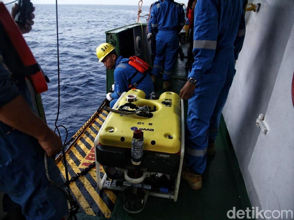 Sinyal Ping CVR Sempat Terdeteksi, Namun Lemah Lalu Hilang