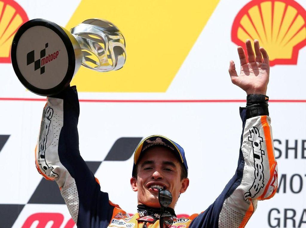 Pesta Juara Marc Marquez di Cervera