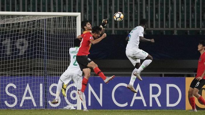 Timnas Arab Saudi U-19 keluar sebagai juara Piala Asia U-19 2018 usai mengalahkan Timnas Korea Selatan U-19 dengan skor 2-1 di final. (Foto: Asian Football Confederation (AFC)