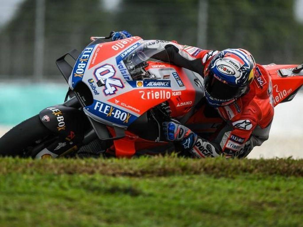 Dovizioso Bidik Kemenangan di MotoGP Malaysia, tapi ...
