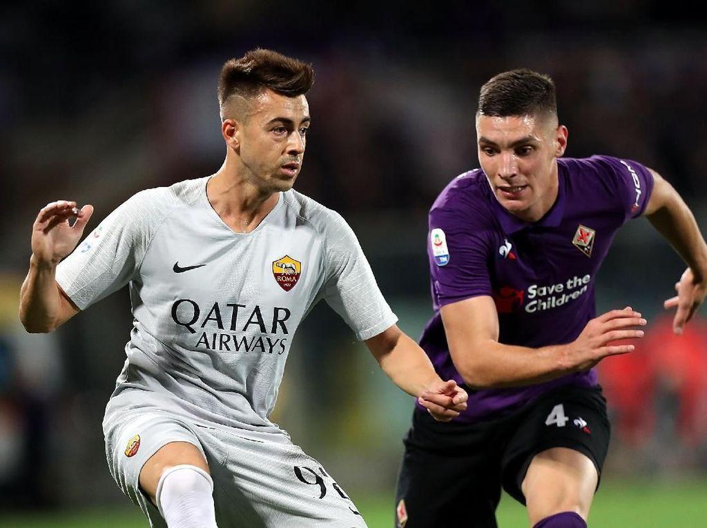Hasil Fiorentina vs Roma: Florenzi Selamatkan Serigala dari Kekalahan
