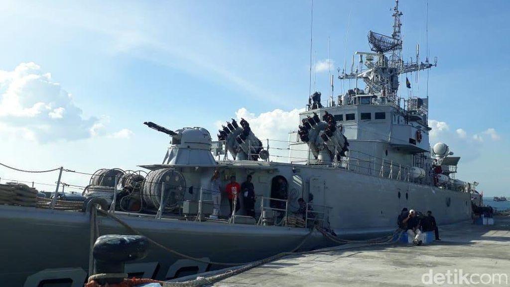 Ini Dia Kapal Perang Pembawa Rupiah ke Pulau Terpencil