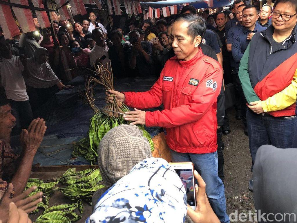 Jokowi: Jangan Teriak Harga Mahal, Nanti Orang Tak Mau ke Pasar