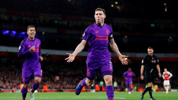 Sengit, Arsenal vs Liverpool Berakhir Imbang 1-1