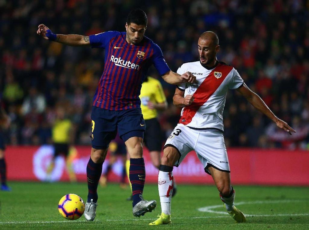Hasil Liga Spanyol: Susah Payah Barcelona Kalahkan Rayo Vallecano