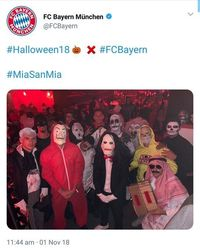 Pakai Kostum Halloween Sorban dan Gamis, Pesepakbola Ini Dihujat