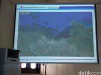 Rute penerbangan terakhir Lion Air PK-LQP versi FDR. Rute ini mirip yang digambarkan situs Flightradar24 yang sebelumnya telah beredar luas.