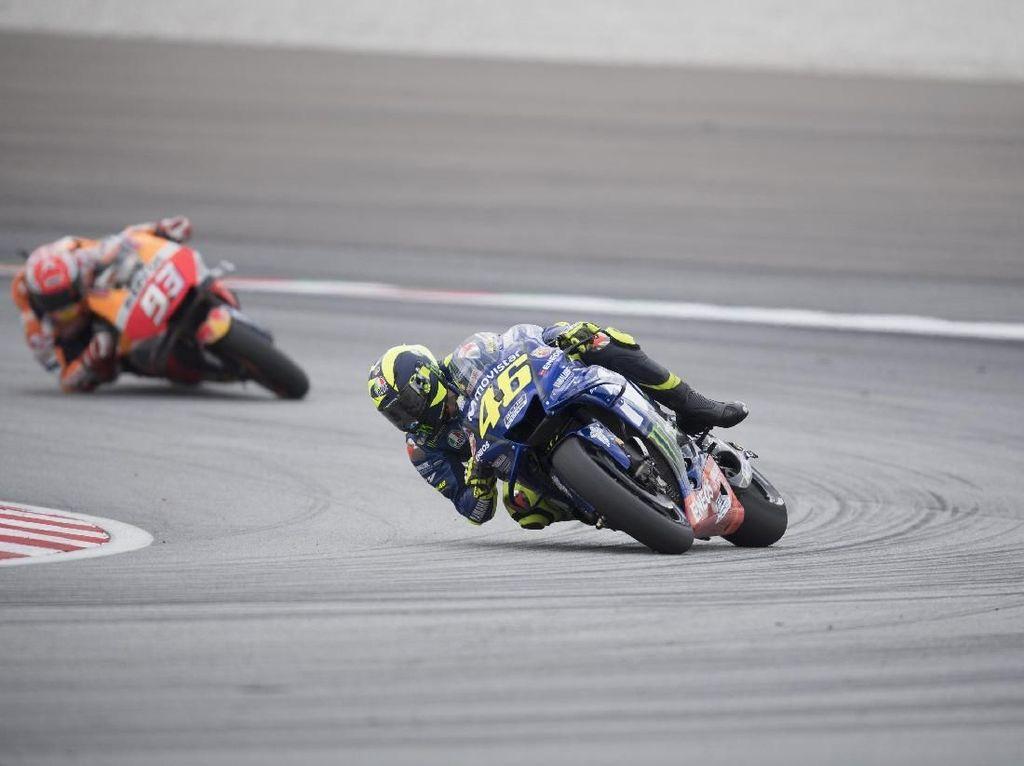 Marquez Akui Kecepatan Yamaha di MotoGP Malaysia