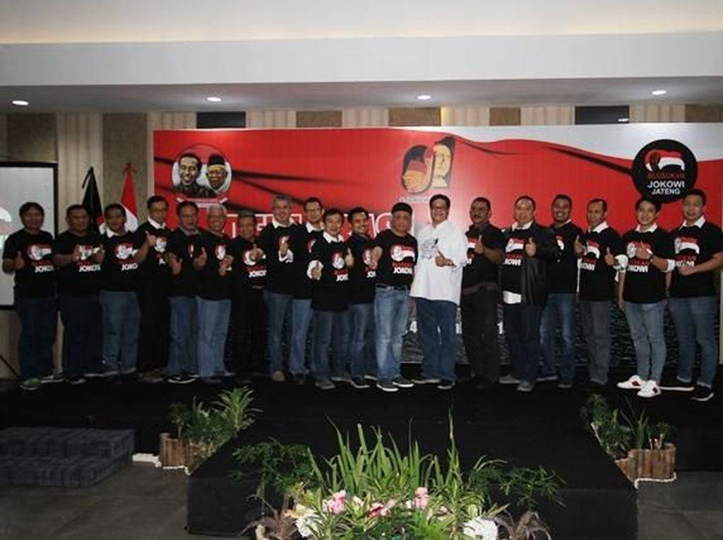Relawan Jokowi Optimis Raih Suara di Jateng