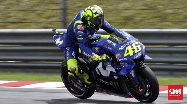 Valentino Rossi finis ketiga di klasemen akhir MotoGP 2018.