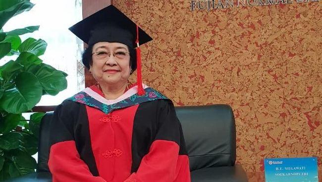 Deretan Gelar Akademis Kehormatan Megawati yang Hari Ini Jadi Profesor