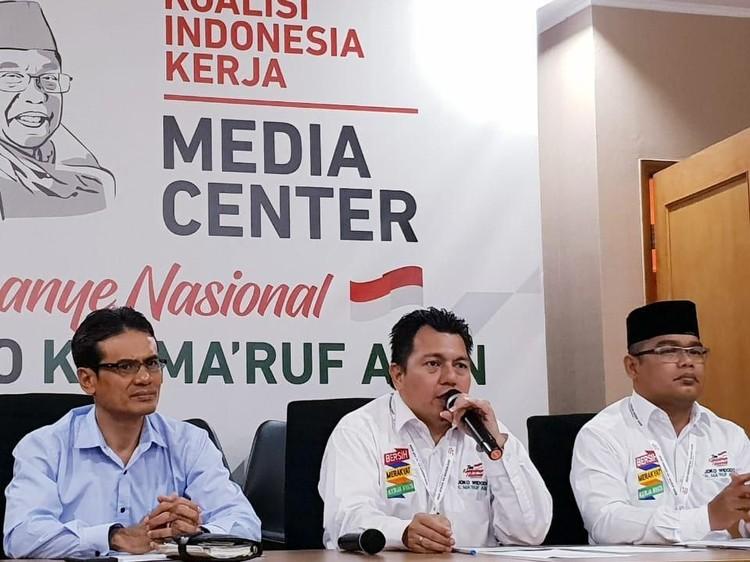 BPN Ajukan 51 Bukti Gugatan Pilpres ke MK, TKN: Menunjukkan Tidak Siap