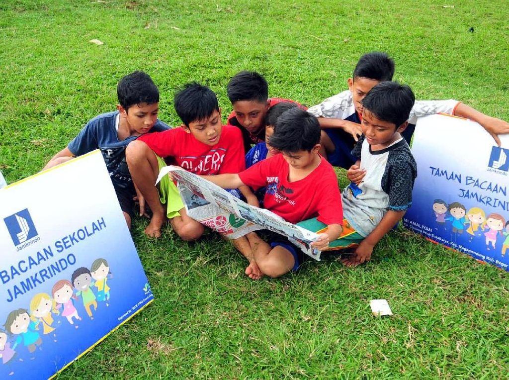 Kebutuhan Buku Bacaan Anak-anak di Cisarua
