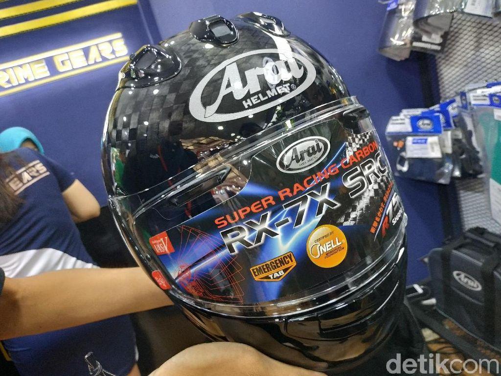 Daftar Helm Impor Paling Mahal di IMOS 2018