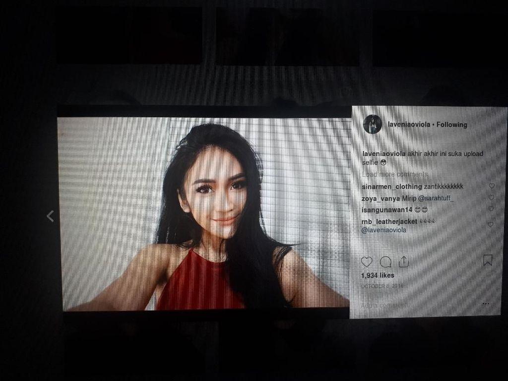 Lebih Dekat dengan Lavenia Oviola, Model Seksi yang Kena Jotos Petarung