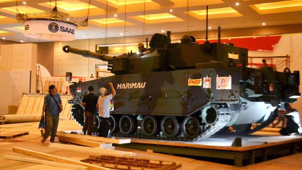 Melihat Persiapan Jelang Indo Defence 2018 Expo