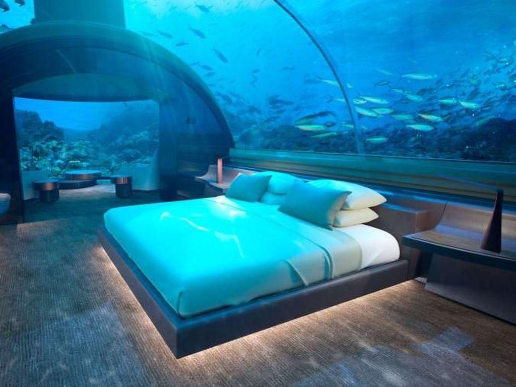 Satu-satunya di Dunia! Hotel Bawah Air Maldives Resmi Dibuka