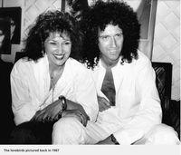 Ungkapan Syukur Brian May 'Queen' di Ultah Pernikahannya