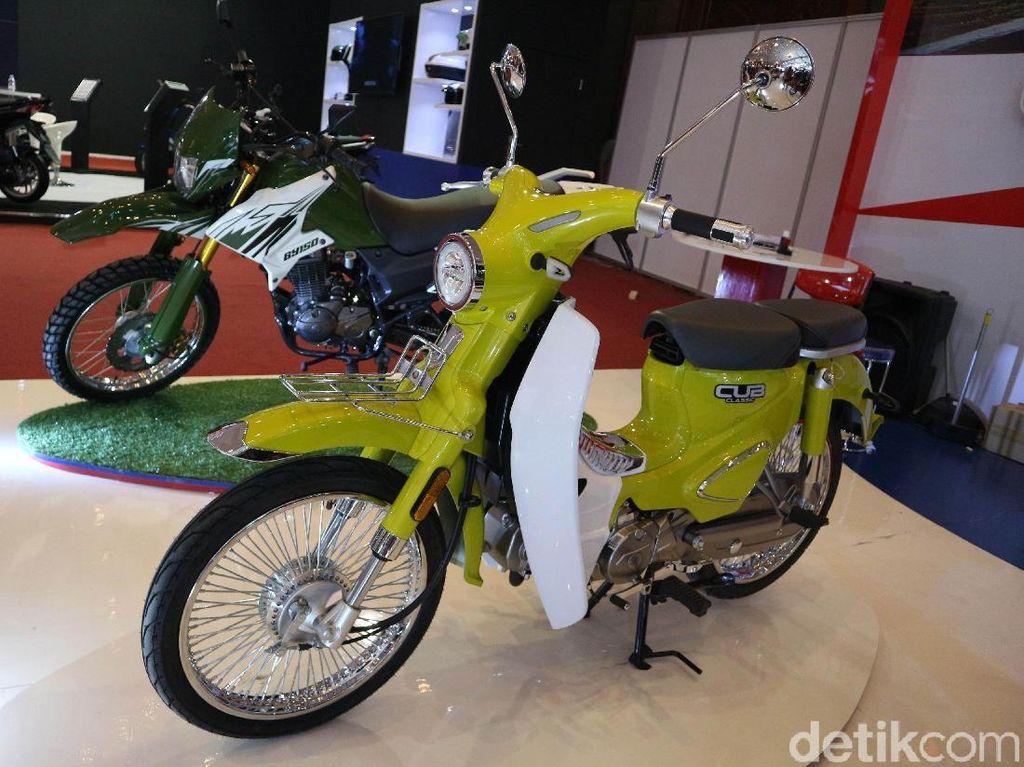 Motor Bebek Mirip Honda Super Cub Ini Tak Sampai Rp 20 Juta