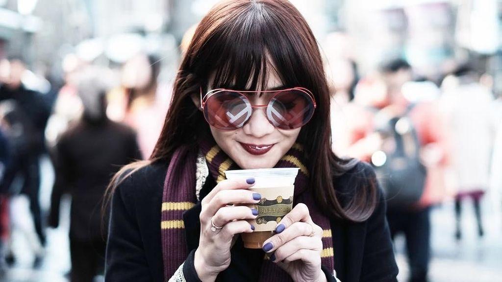 Manisnya Istri Gilang Dirga Saat Kulineran di Jepang hingga New York