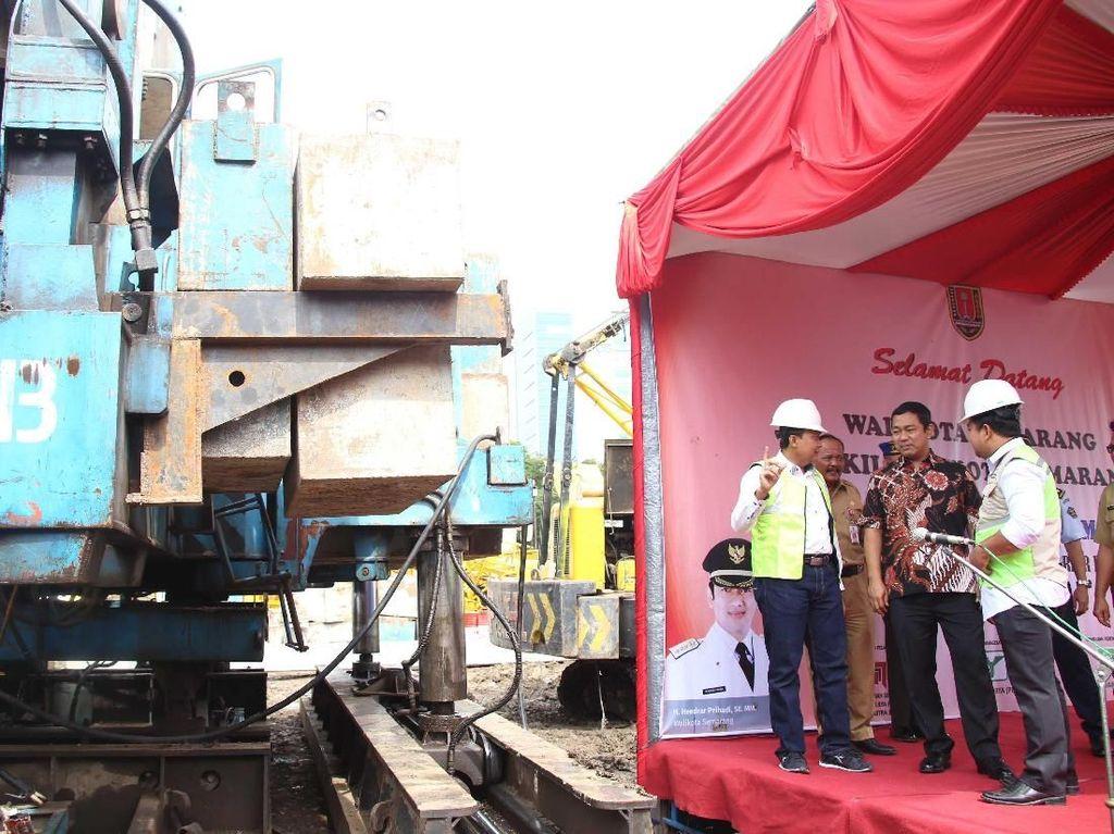 Wali Kota Hendi Bangun Area Parkir 5 Lantai di Pandanaran Semarang