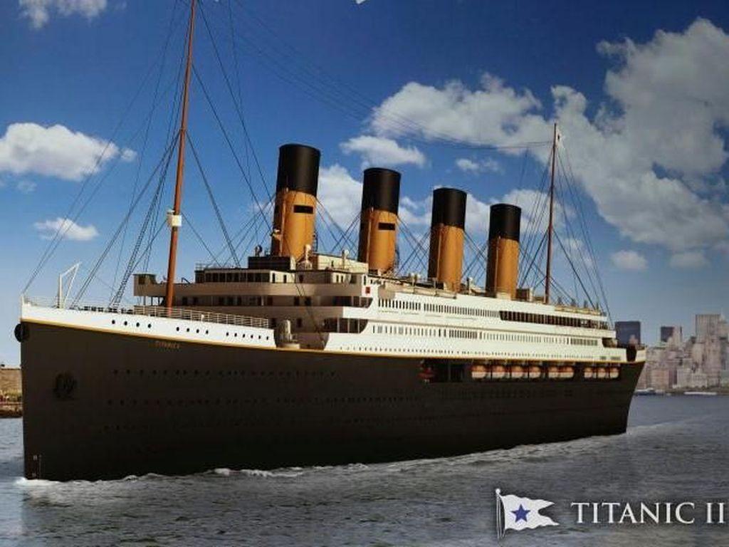 Kapal Titanic II Siap Berlayar di Tahun 2022