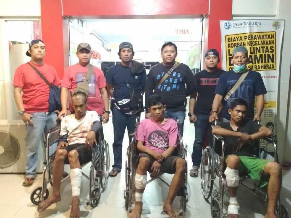 Ini Tampang 3 Orang Komplotan Begal Sadis Makassar yang Ditembak