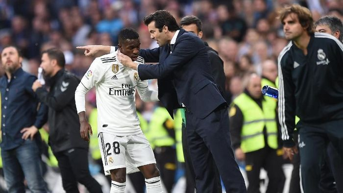 Pemain Real Madrid, Vinicius Junior. (Foto: Denis Doyle/Getty Images)