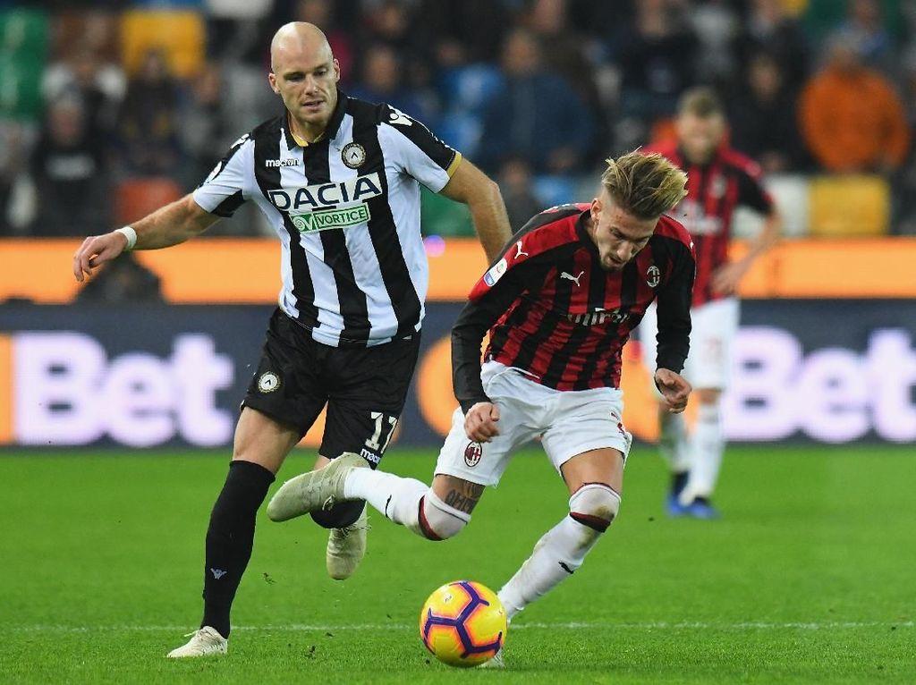 Udinese Tricky, Milan Bangkit atau Kian Terpuruk?