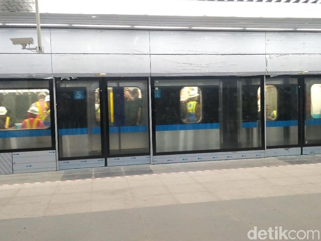Target Operasi Maret 2019, Begini Kondisi Proyek MRT Jakarta Sekarang
