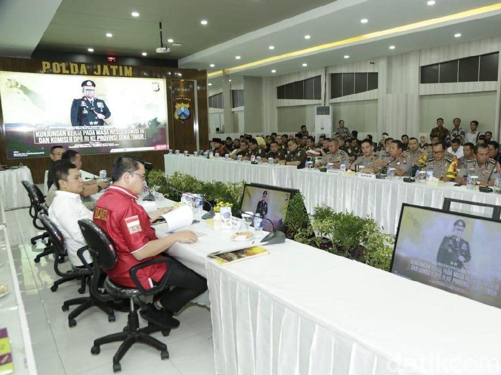Kunjungi Polda Jatim, Anggota DPR RI Bicara Persiapan Pemilu