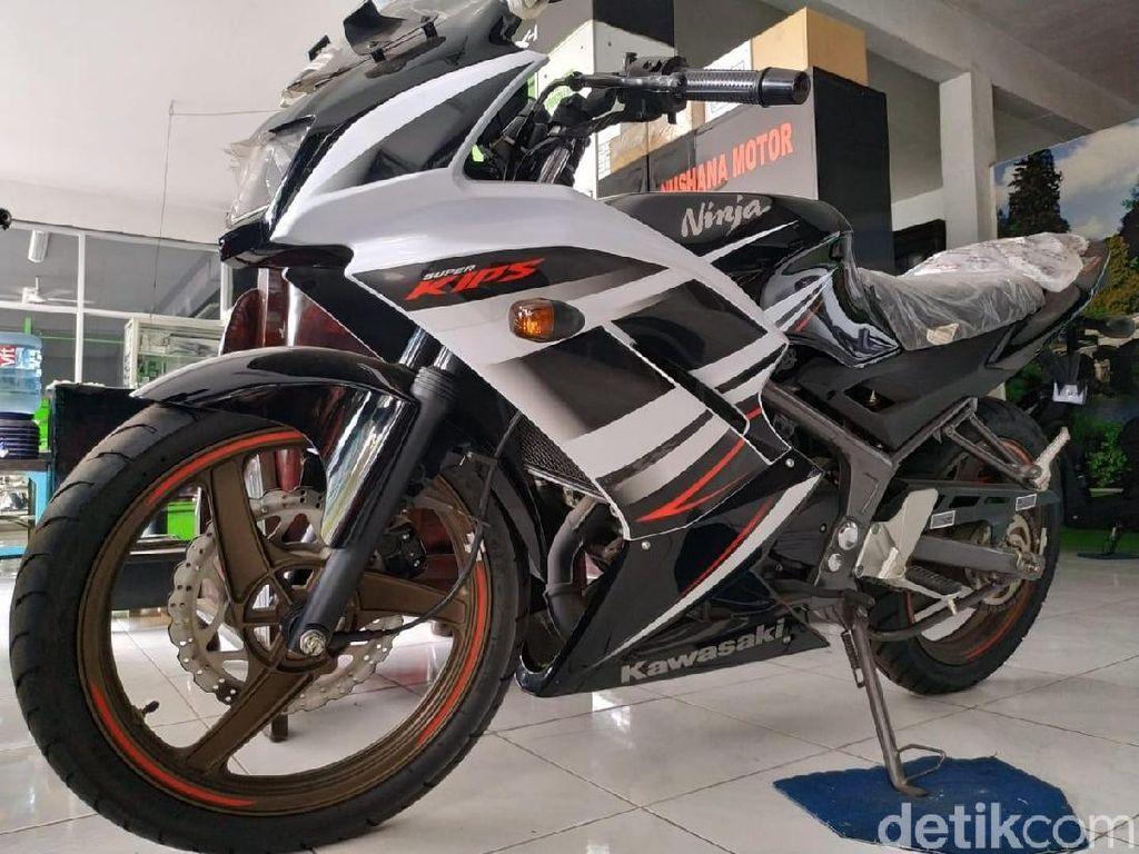 Motor Ninja 2-Tak Dibanderol Rp 75 Juta Ini Nggak Bisa Dikredit