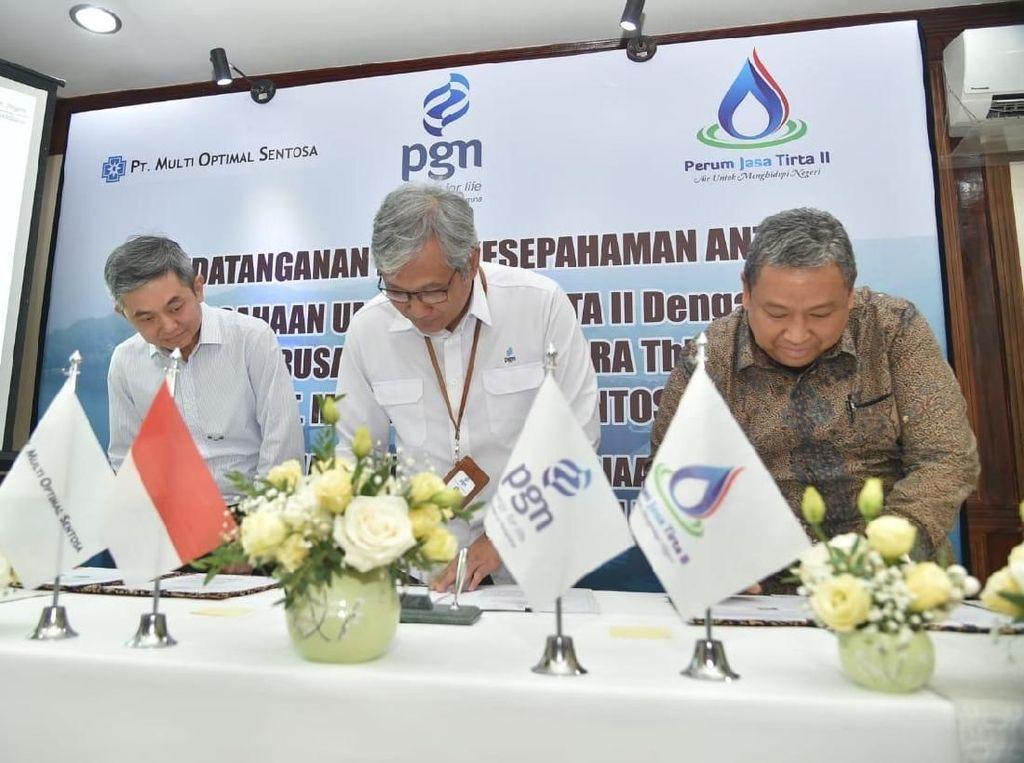 PGN Pasok Gas untuk Kawasan Industri Purwakarta