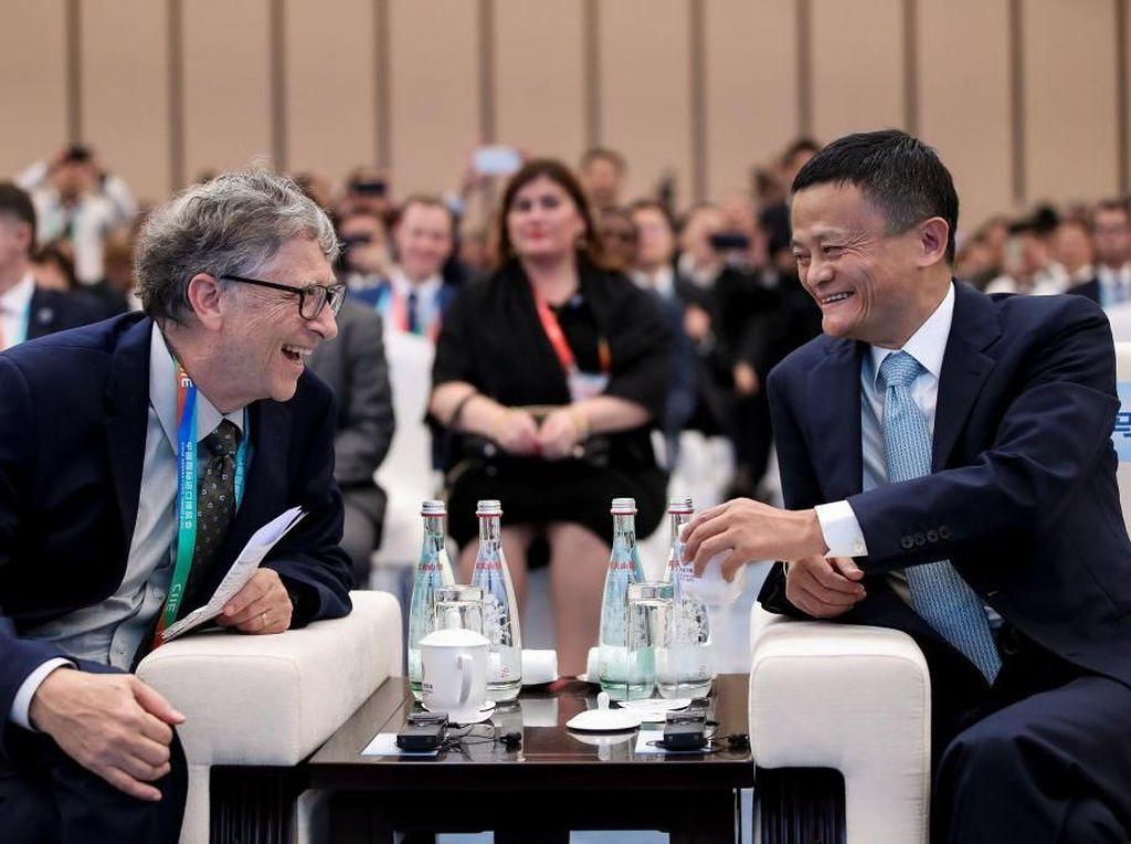 Bill Gates Diserang Teori Konspirasi Corona, Ini Kata Jack Ma
