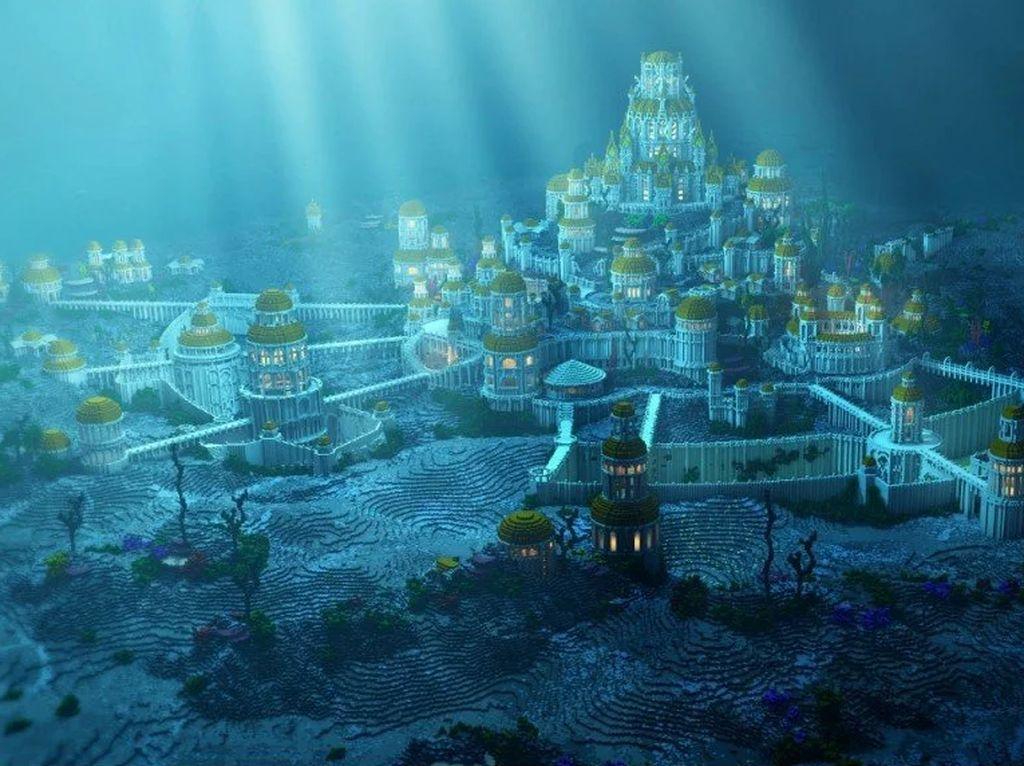 5 Tempat yang Diduga Benua Atlantis, Ada Indonesia!