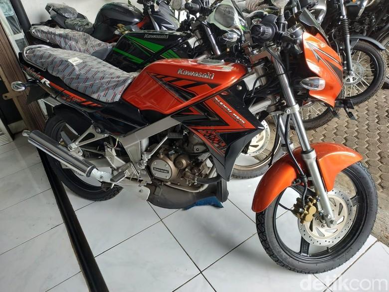 Kawasaki Ninja 2-tak Foto: Ridwan Arifin/detikOto
