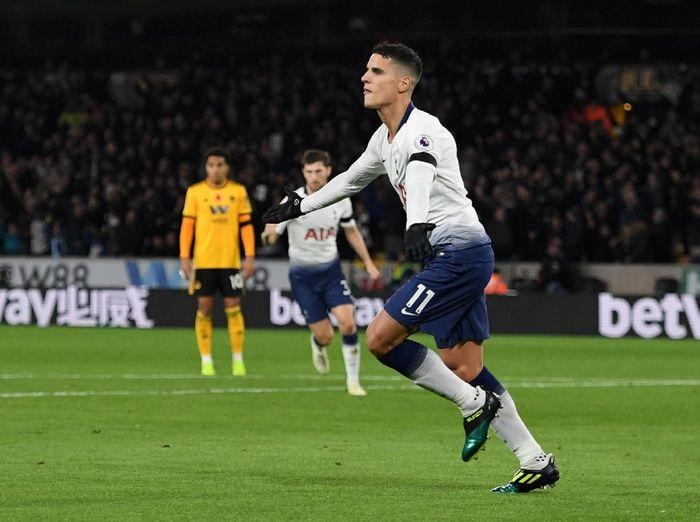 Pemain Tottenham Hotspur, Erik Lamela. (Foto: Ross Kinnaird/Getty Images)