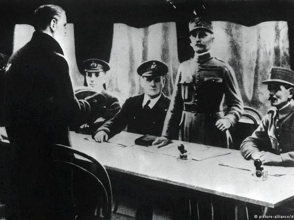 100 Tahun Lalu, Perang Dunia I Antara Jerman Vs Sekutu Resmi Berakhir