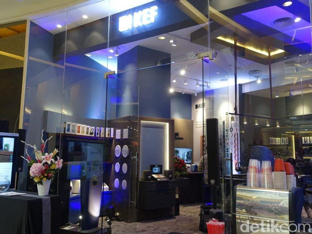 Toko Pertama Speaker Premium KEF Buka di Jakarta