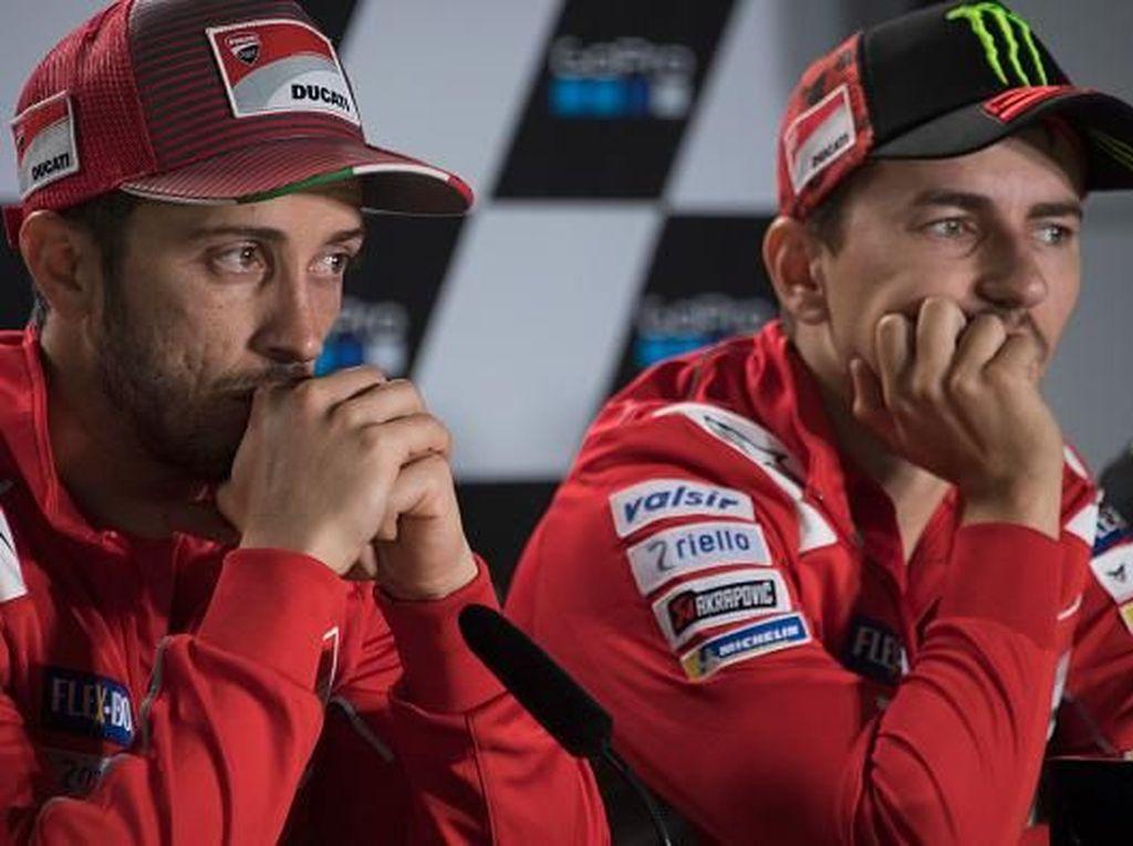 Tentang Ribut-Ribut Andrea Dovizioso dengan Jorge Lorenzo