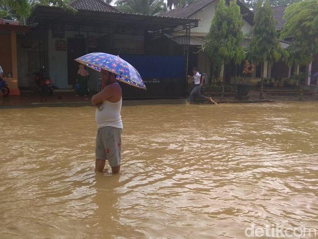 Banjir, Akses Jalan Nasional Trenggalek-Pacitan Tersendat
