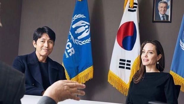 Kunjungan Angelina Jolie ke Korea Selatan