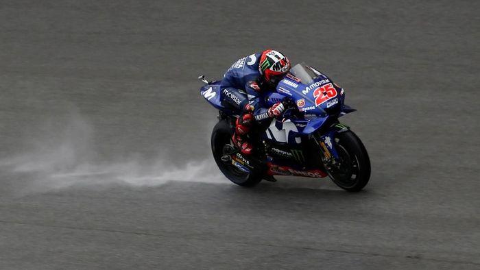 Maverick Vinales cuma bisa finis keempat di MotoGP Malaysia (Lai Seng Sin/REUTERS)