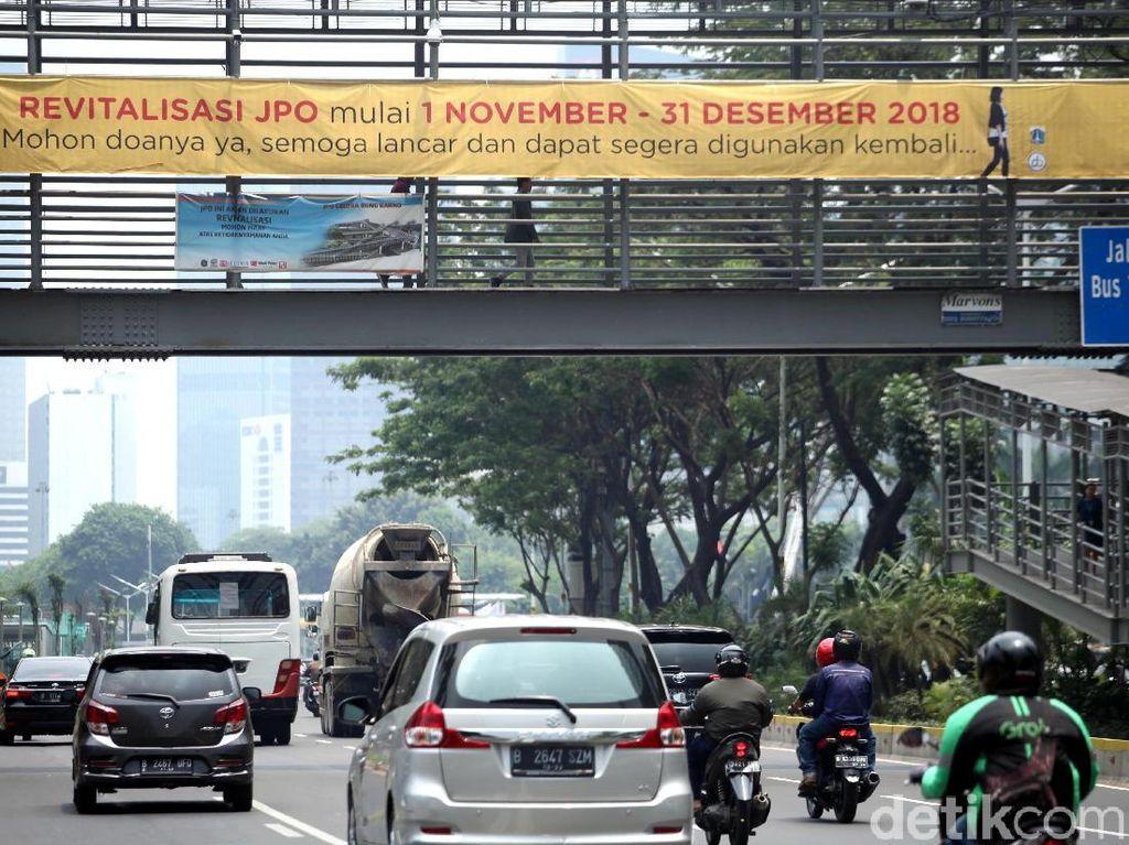 3 JPO Mulai Direvitalisasi Pemprov DKI Jakarta