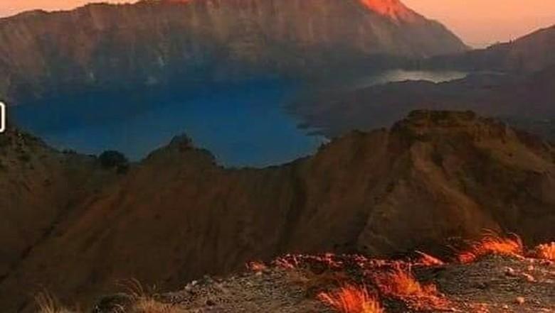 Geopark Rinjani, Lombok, NTB (dok. Balai Taman Nasional Gunung Rinjani)