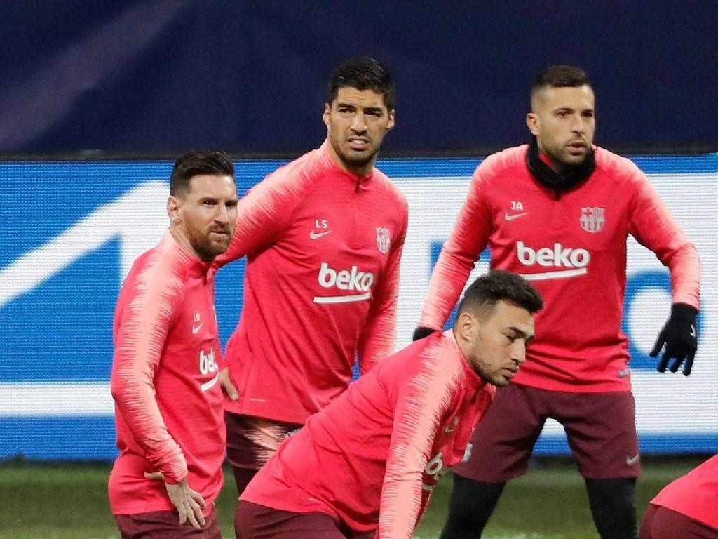 Lionel Messi Panaskan Mesin Jelang Inter Milan Vs Barcelona