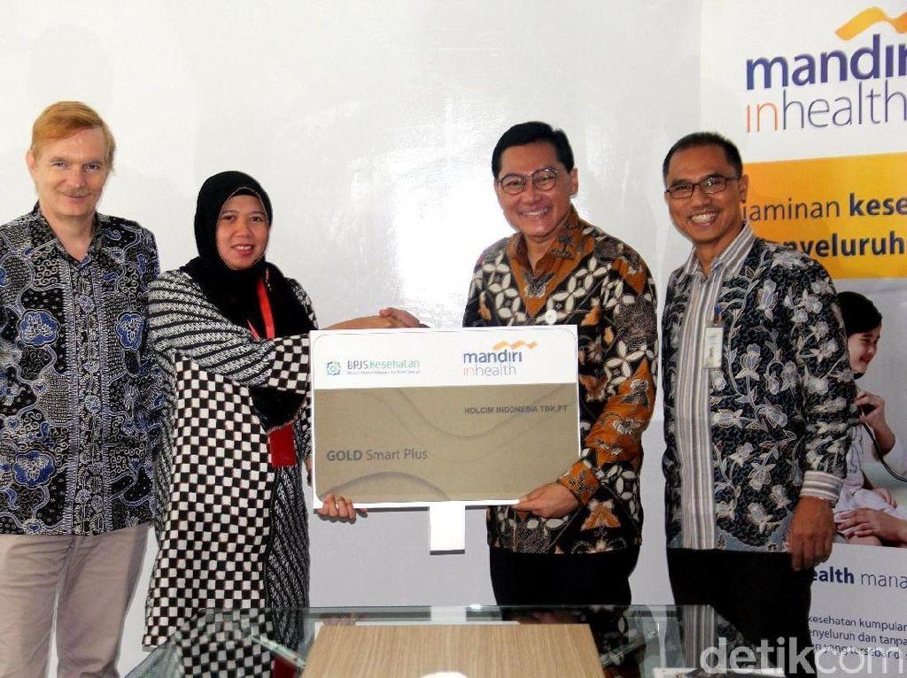 Mandiri Inhealth Gandeng Holcim Indonesia