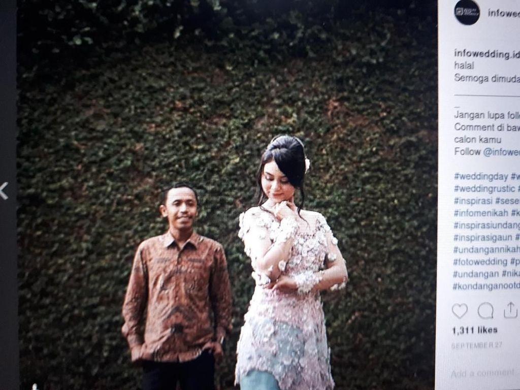 Berawal dari Wawancara, Mas Pur TOP Kini Sah Menikah dengan Dwinda Ratna